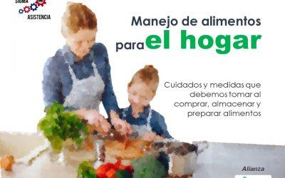 Manejo de alimentos para el hogar