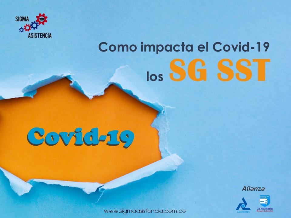 Como impacta el Covid-19 los SG SST