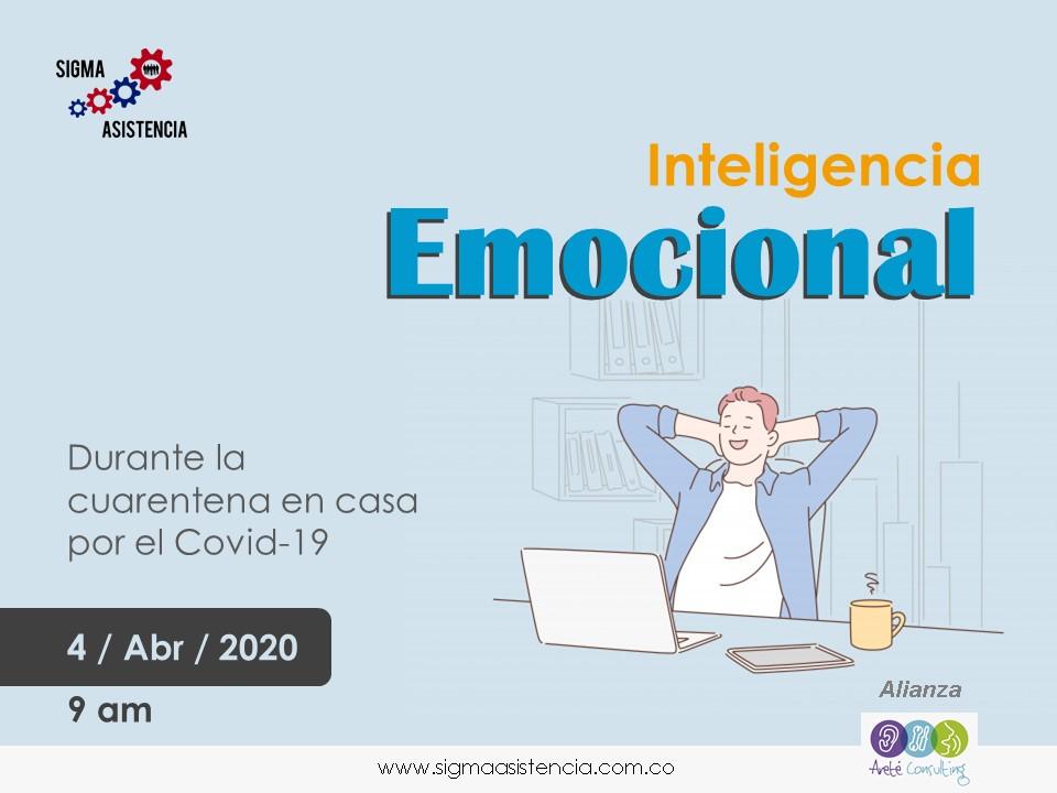Inteligencia emocional durante la cuarentena en casa por Covid-19